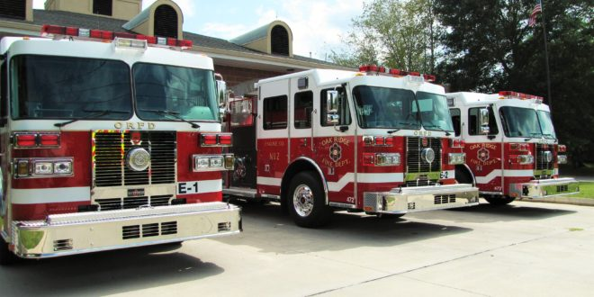Fire Prevention Parade October 7th in Oak Ridge