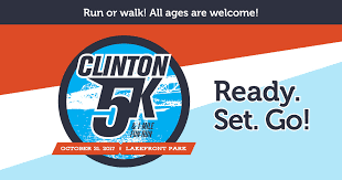Clinton 5K & 1 Mile Fun Run Saturday