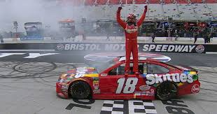 MENCS:  Busch goes back-to-back with Bristol win